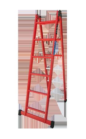 escalera aislante fija plegable