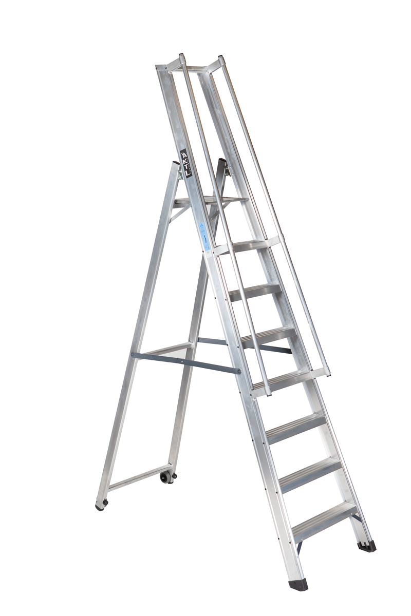 Nueva escalera de almac n xl s - Escaleras para almacen ...