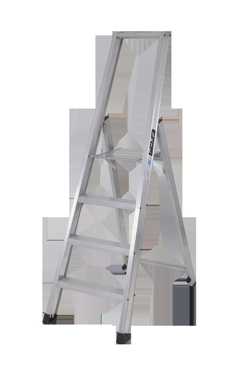 Nueva escalera de tijera industrial xl for Escaleras 10 peldanos de tijera