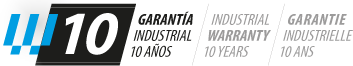 logo-garantia-10 escaleras de aluminio Échelles en aluminium et Échafaudages KTL logo garantia 10