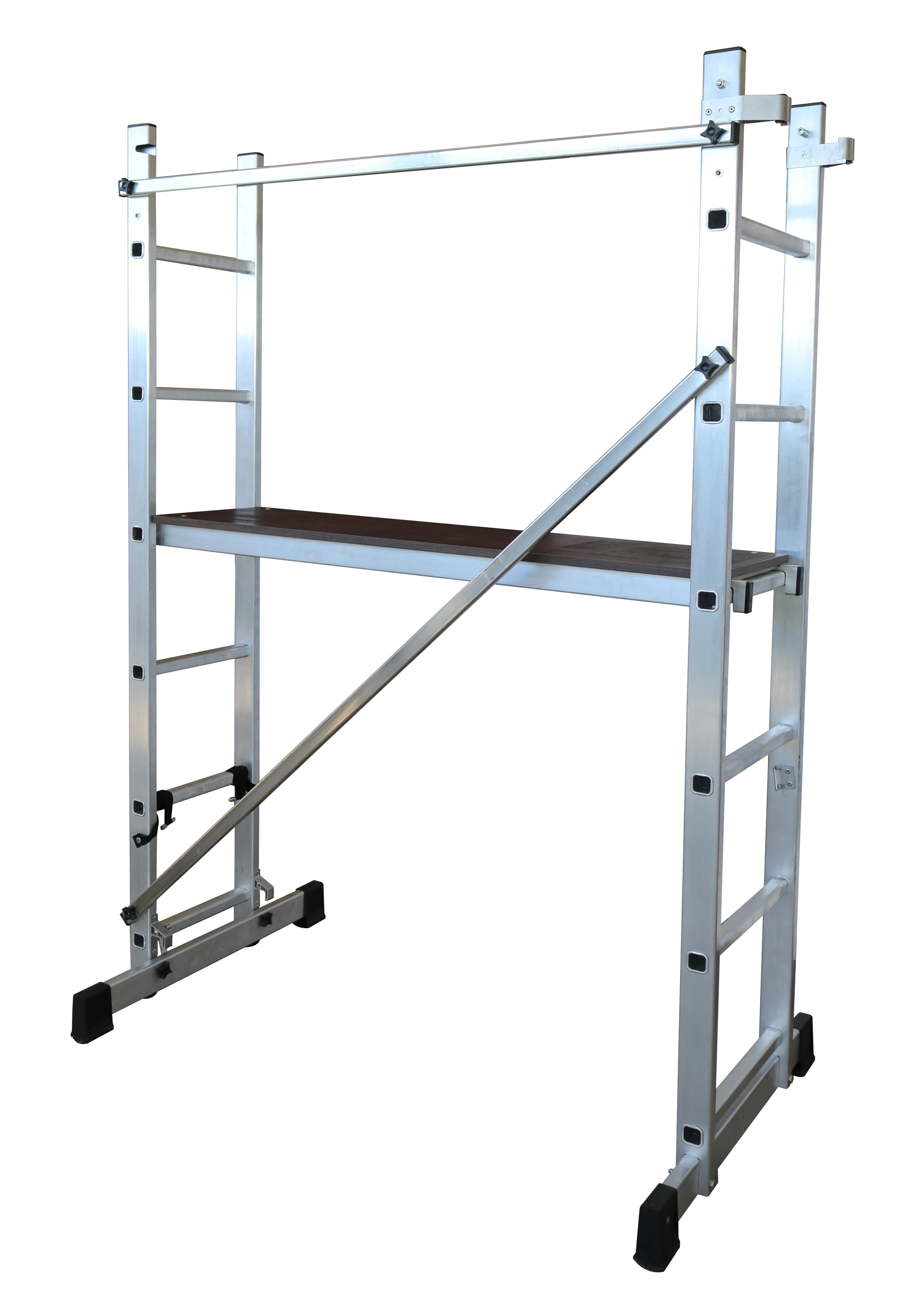 escalera-andamio multiusos Échafaudage-échelle 2 plans escalera andamio 1
