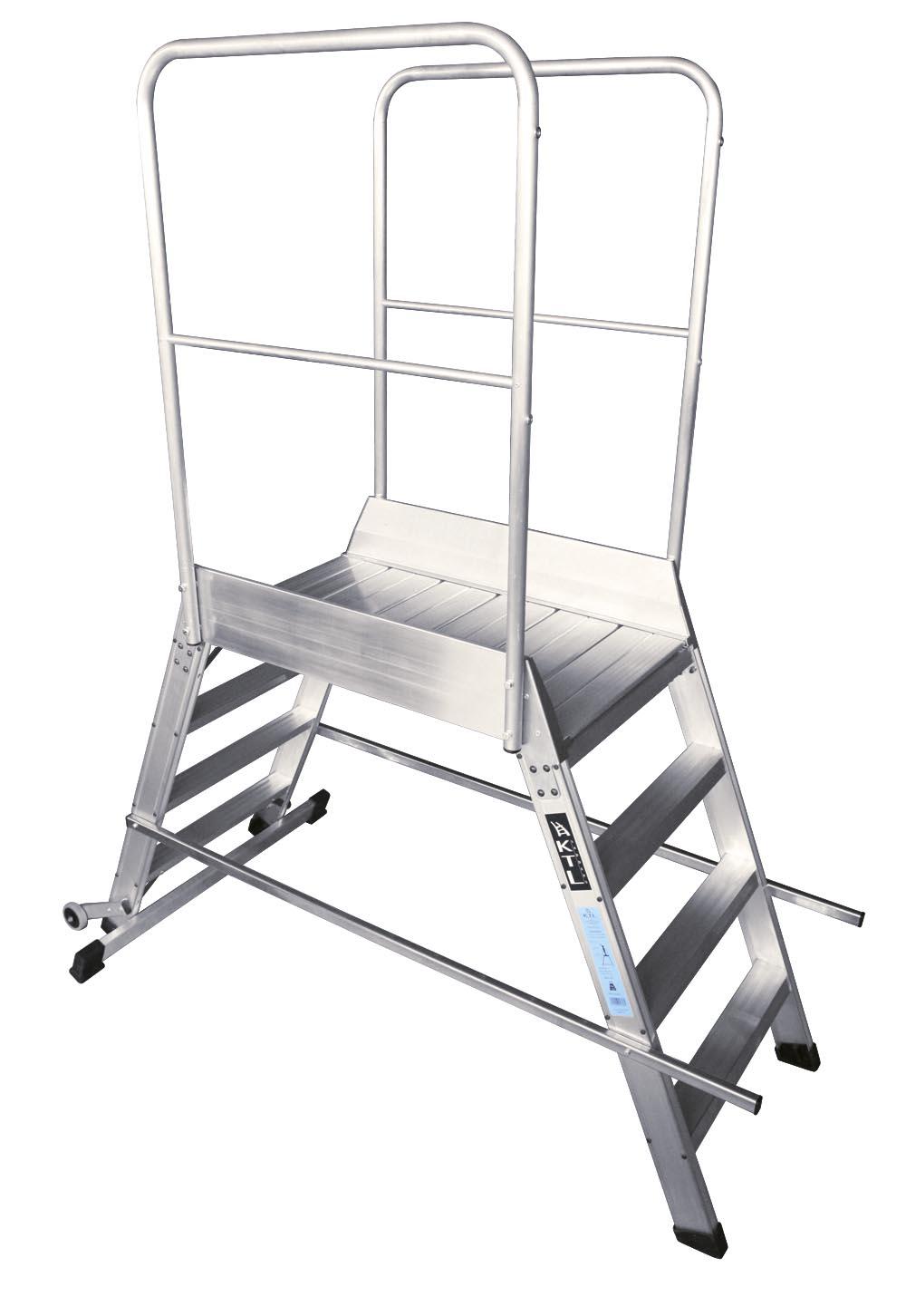 EP2-4p escalera de plataforma móvil, ep-2 accesos Échelle plate-forme roulante EP-2 accès EP2 4p