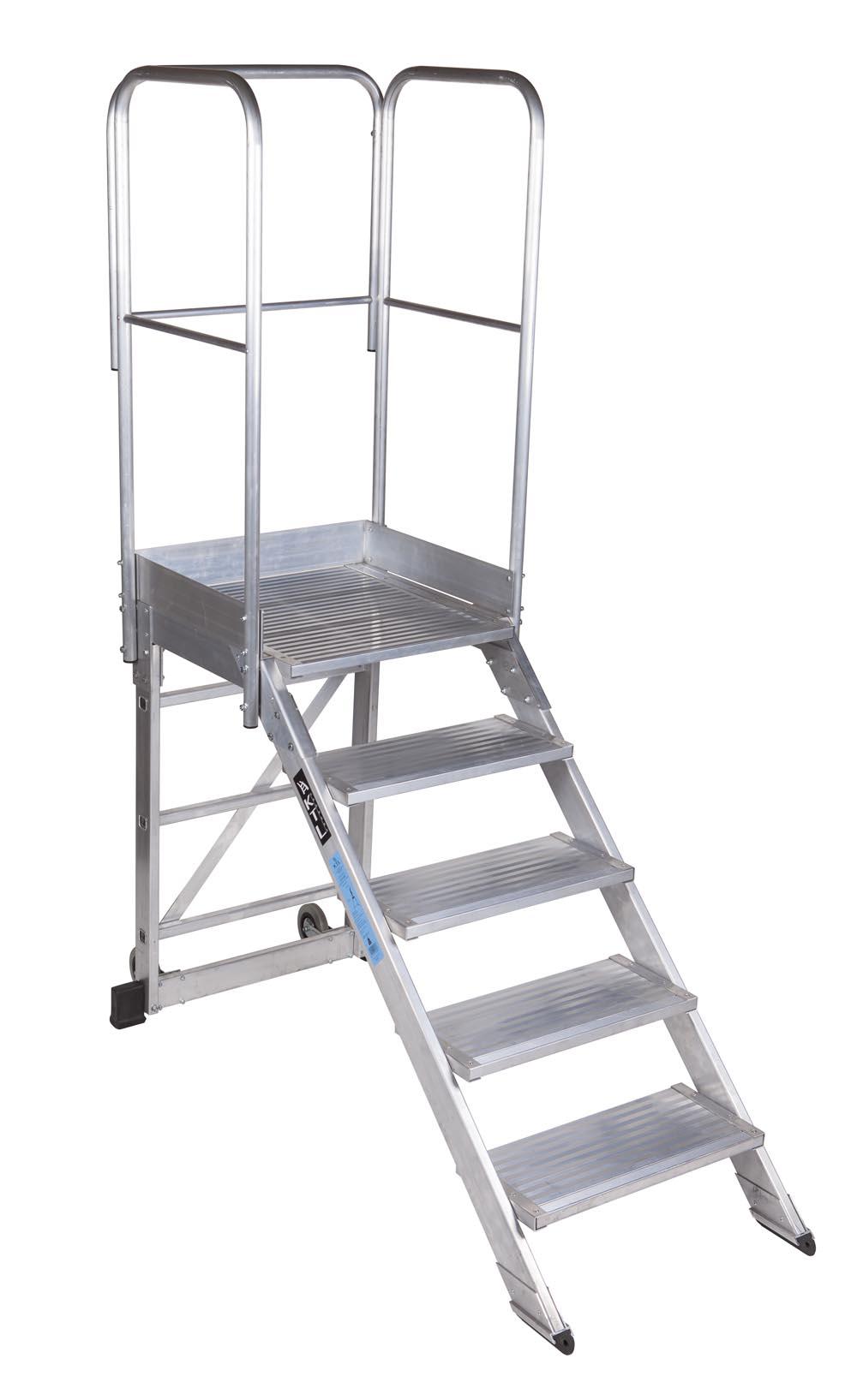 escaleras de plataforma m viles max 45 y 60