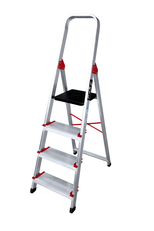 Escalera de aluminio PLUS escalera de aluminio plus Escabeau en aluminium plus PLUS 4