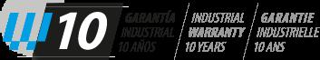 logo-garantia-10 escaleras de aluminio Escaleras de aluminio y andamios de aluminio logo garantia 10