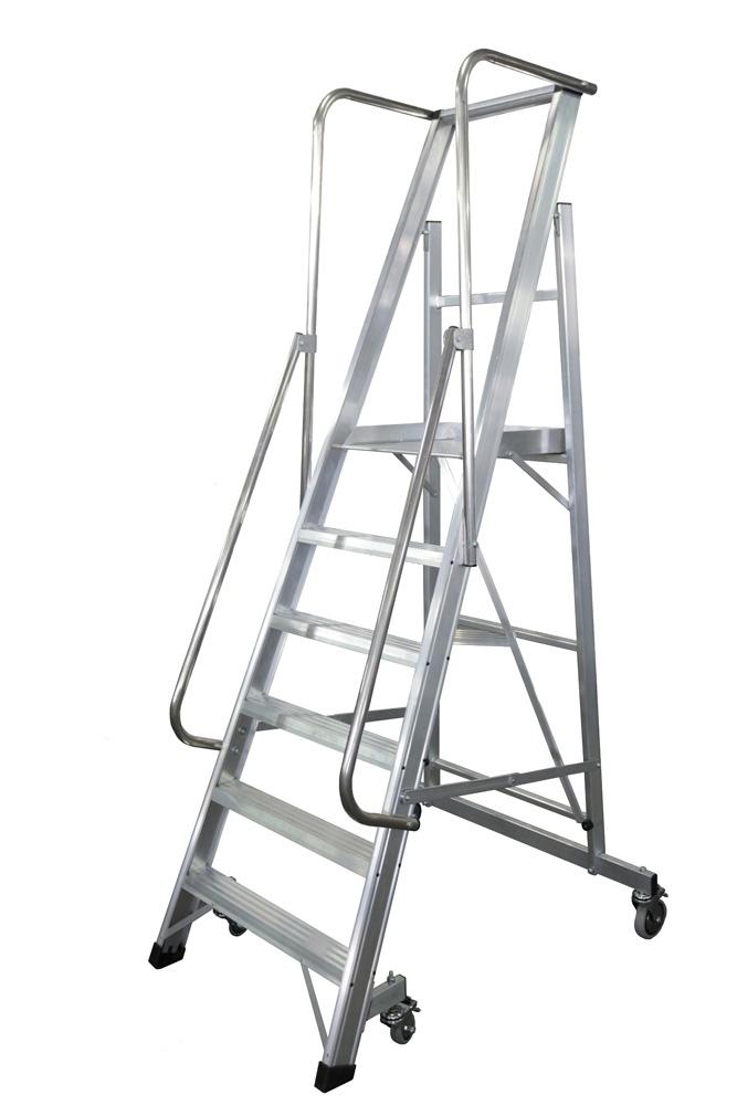 escalera móvil con plataforma, plegable, 2xl-s Escalera móvil con plataforma, plegable, 2XL-S PRINCIPAL 2XL S REF