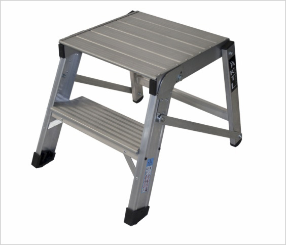 Taburete plegable karlo de uso intensivo for Taburete escalera plegable plastico