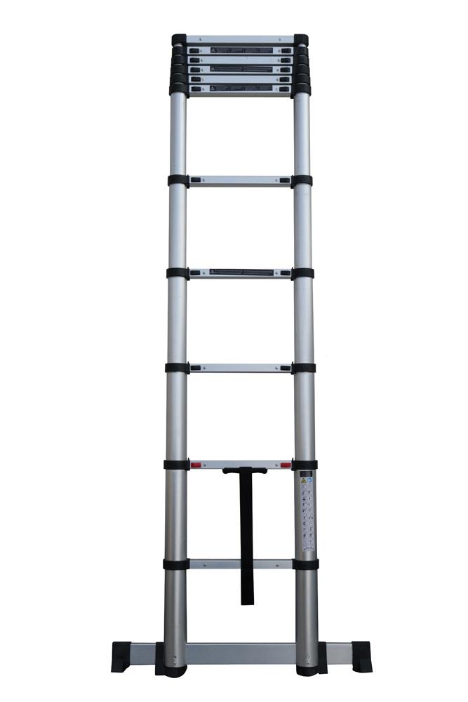 escalera fija (serie profesional) Escalera telescópica de apoyo KLAK-KLAK Escalera telescopica semiplegada